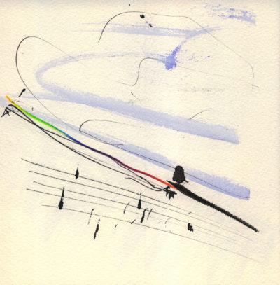 Plus sombre le cygne, poèmes. Oeuvres de Julius Baltazar.