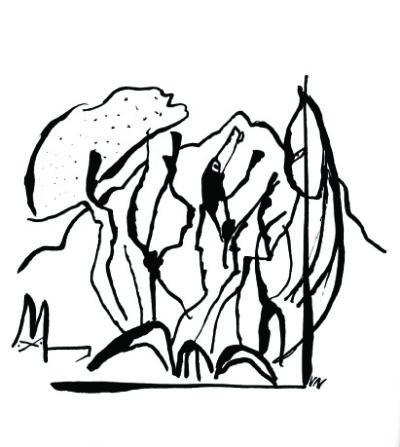 beau lieu, avec 10 dessins de valère Novarina