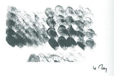 Les chasseurs d'eaux, récit. Orné de deux encres de Céline Le May